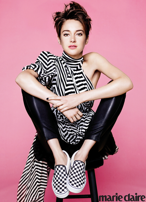 Shailene Woodley for Marie Claire magazine
