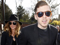 Millie Mackintosh and Professor Green outside Bromley Magistrates Court