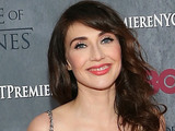 Carice van Houten attends the Game of Thrones season 4 premiere at the Lincoln Center, New York