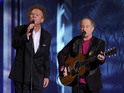 Simon & Garfunkel performing together