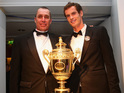 Wimbledon champion mutually parts ways with the tennis legend.