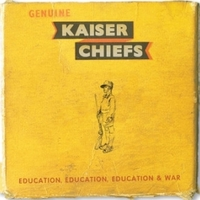 Kaiser Chiefs 'Education, Education, Education & War' album art.