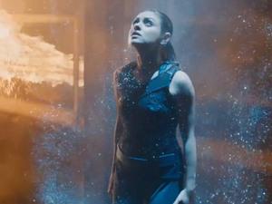Mila Kunis in Jupiter Ascending trailer still
