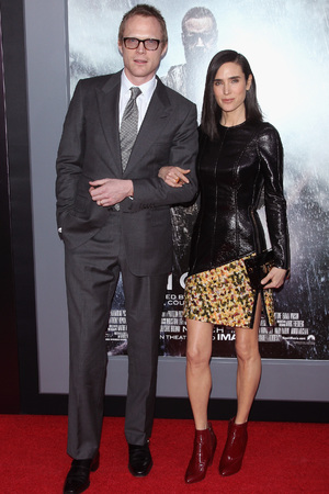 NEW YORK, NY - MARCH 26: Actors Paul Bettany and Jennifer Connelly attend the 'Noah' New York Premiere at Ziegfeld Theatre on March 26, 2014 in New York City. (Photo by Jim Spellman/WireImage)