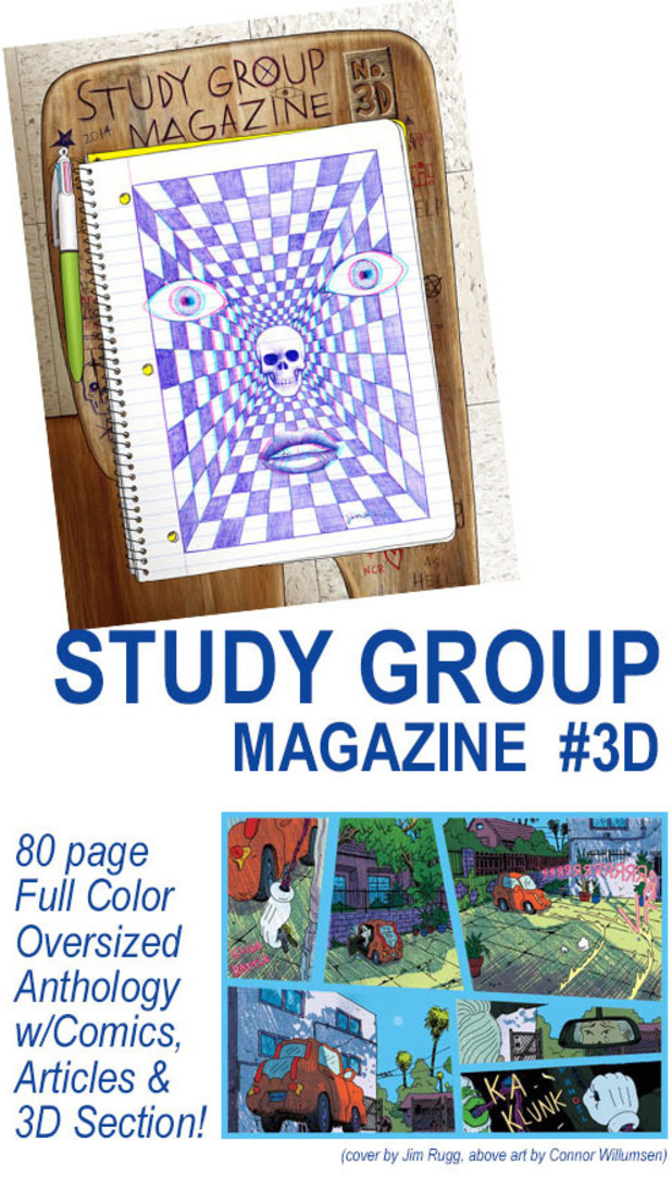 Study Group Magazine #3D