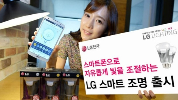 LG's Smart Bulb is compatible with iOS and Android