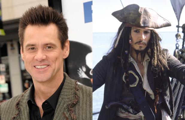 Jim Carrey - Pirates of the Caribbean (Johnny Depp)