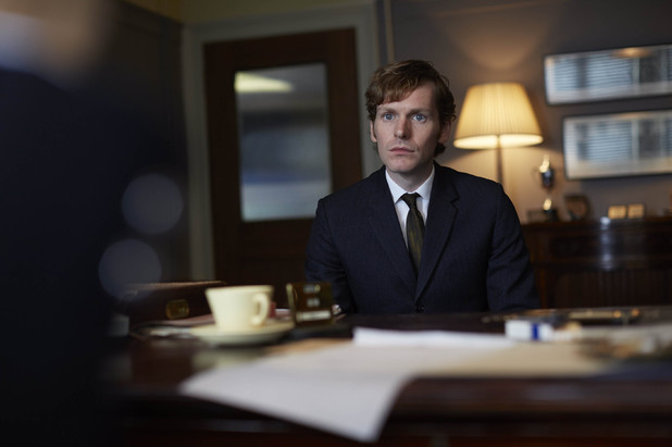Shaun Evans in Endeavour