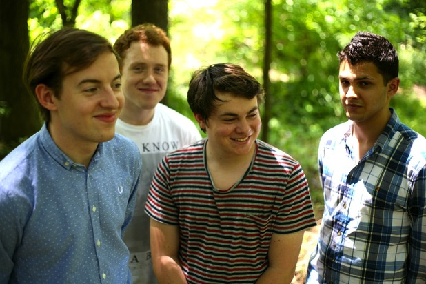 Bombay Bicycle Club press shot.