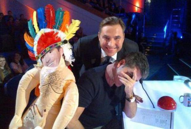 David Walliams, Simon Cowell, BGT 2014