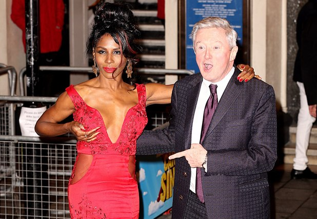 Sinitta attending the opening night of I Can't Sing! The X Factor Musical