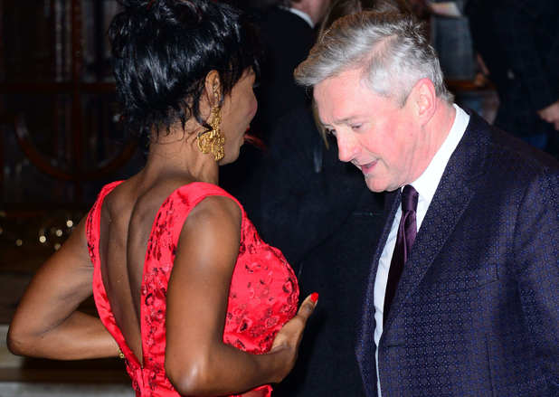 'I Can't Sing' musical press night, London, Britain - 26 Mar 2014 Sinitta and Louis Walsh 26 Mar 2014