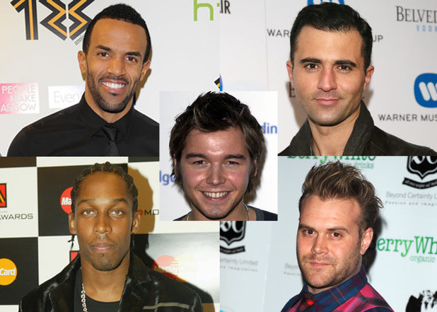 Pop Supergroup - Craig David, Darius, Lemar, Daniel Bedingfield and David Sneddon