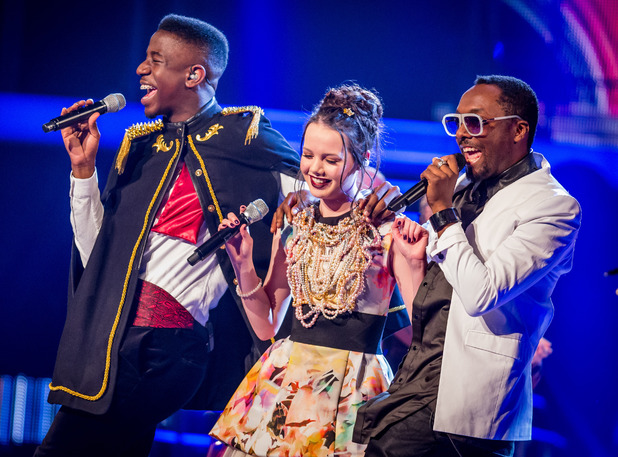 The Voice: Jermain Jackman, Sophie May Williams, Will.i.am