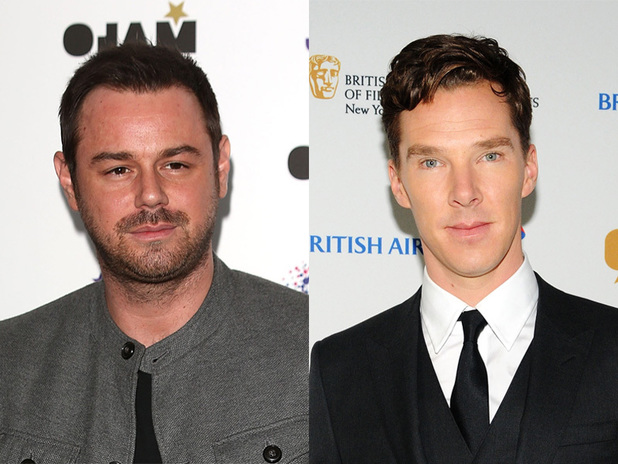 Danny Dyer and Benedict Cumberbatch
