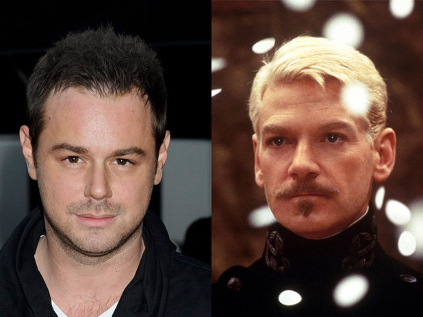 Danny Dyer and Kenneth Branagh as Hamlet