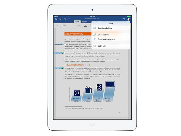 Office for iPad: Word