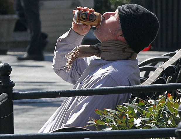 'Time Out Of Mind' film set, New York, America - 26 Mar 2014 Richard Gere 26 Mar 2014