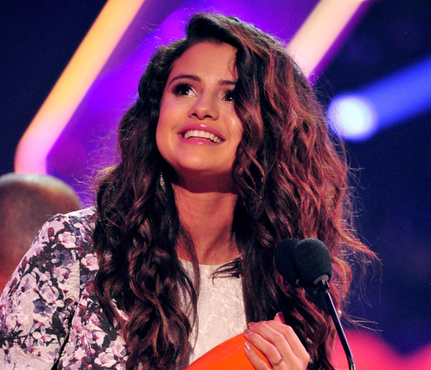 Selena Gomez at the Nickelodeon Kids Choice Awards 2014