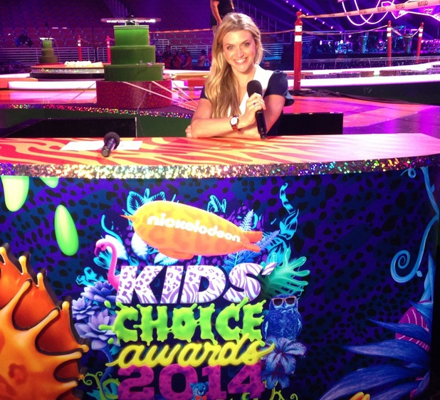 Anna Williamson at the Kids Choice Awards