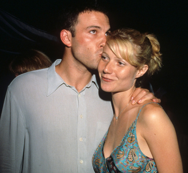 "Ben Afleck and Gwyneth Paltrow (Photo by Ke.Mazur/WireImage) ""Armageddon"" Premiere at the Kennedy Space Center"