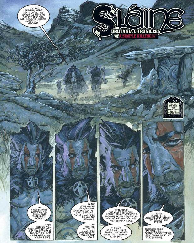 2000 AD Prog 1874: Sláine - The Brutania Chronicles