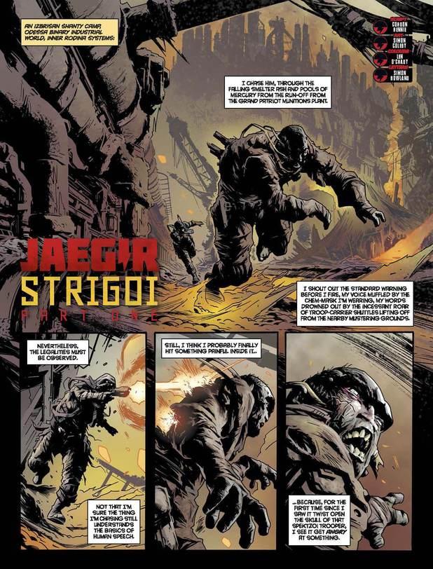 2000 AD Prog 1874: Jaegir - Strigoi