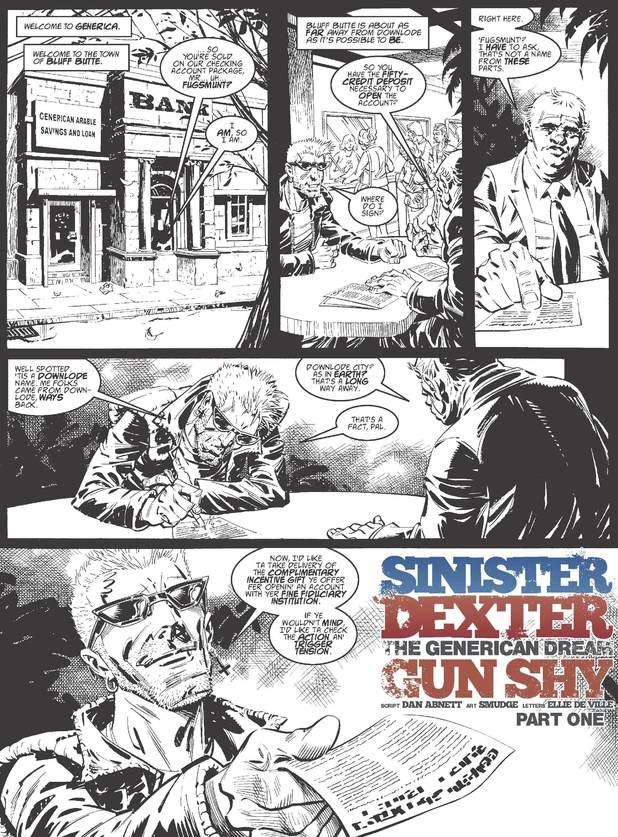 2000 AD Prog 1874: Sinister Dexter - Generican Dream: Gun Shy