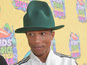Pharrell Williams keeps US No.1