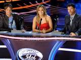 American Idol judges Keith Urban, Jennifer Lopez and Harry Connick Jr