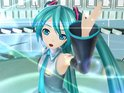 Japanese popstar Hatsune Miku is made of an animated projection and synthesizer.