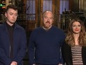 Louis CK shares his excitement for hosting SNL for the second time.