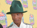 Pharrell Williams at the Nickelodeon Kids Choice Awards 2014