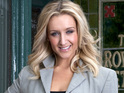 Catherine Tyldesley is enjoying playing a more vulnerable Eva.