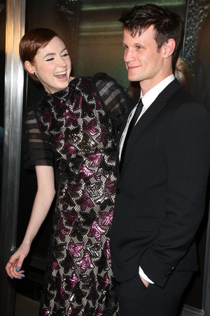 'Oculus' film premiere, Los Angeles, America - 03 Apr 2014 Karen Gillan and Matt Smith 3 Apr 2014