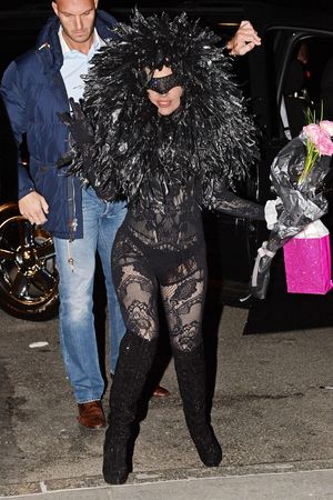 Lady Gaga out and about, New York, America - 27 Mar 2014 Lady Gaga at the Roseland Ballroom 27 Mar 2014