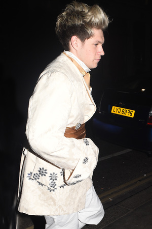 Niall Horan attend Rochelle Humes' Disney themed birthday party at Steam and Rye restaurant and club on March 29, 2014 in London, England
