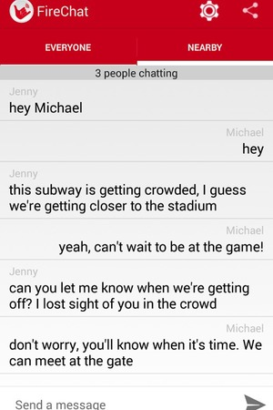FireChat app for Android