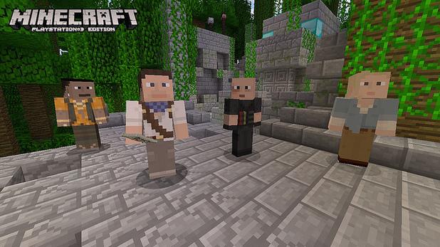 Minecraft PS3 skins