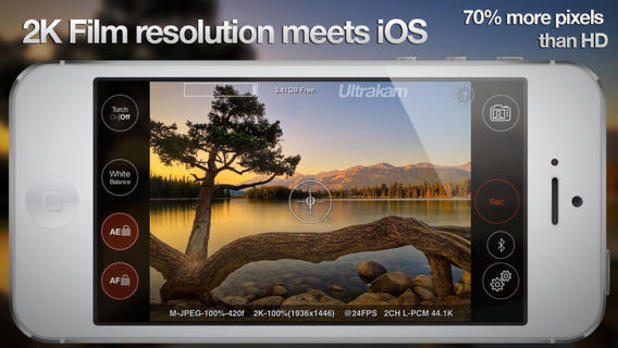Ultrakam brings 2K video recording to iPhone 5S