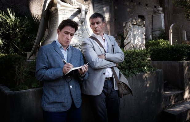 Rob Brydon & Steve Coogan in The Trip To Italy