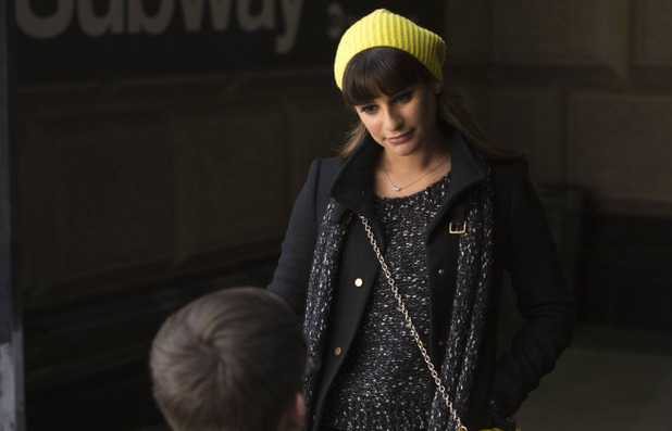 Lea Michele as Rachel in Glee S05E14: 'New New York'