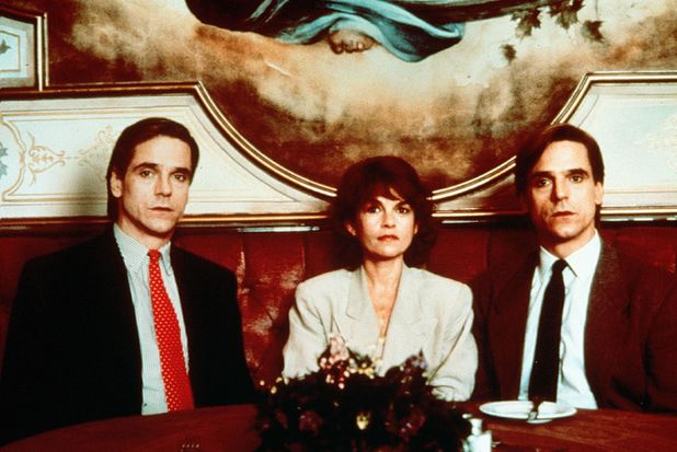 Jeremy Irons and Genevieve Bujold in Dead Ringers