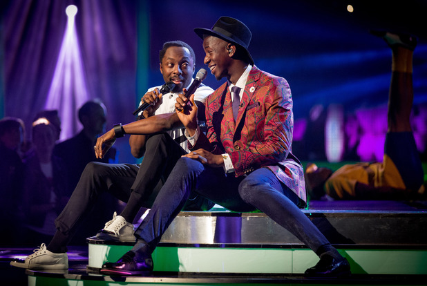 The Voice finalist Jermain Jackman sings 'Pure imagination' with will.i.am