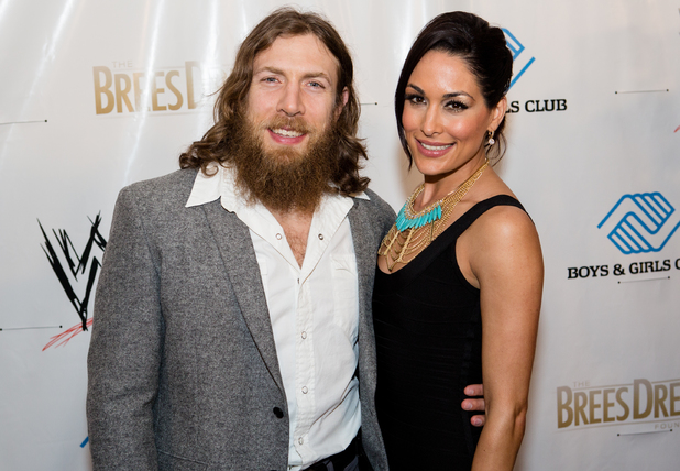 Daniel Bryan Daughter Daniel Bryan And Brie Bella