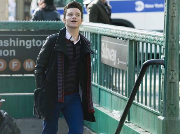 Chris Colfer as Kurt in Glee S05E14: 'New New York'