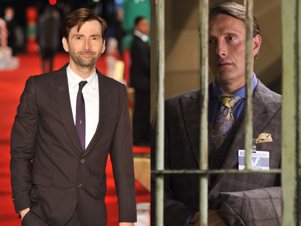 David Tennant & Mads Mikkelsen in Hannibal