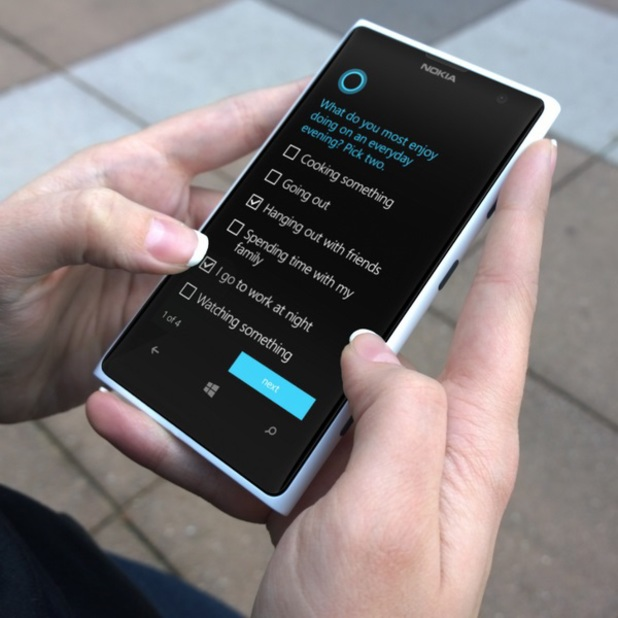 Microsoft's Windows Phone 8.1 operating system