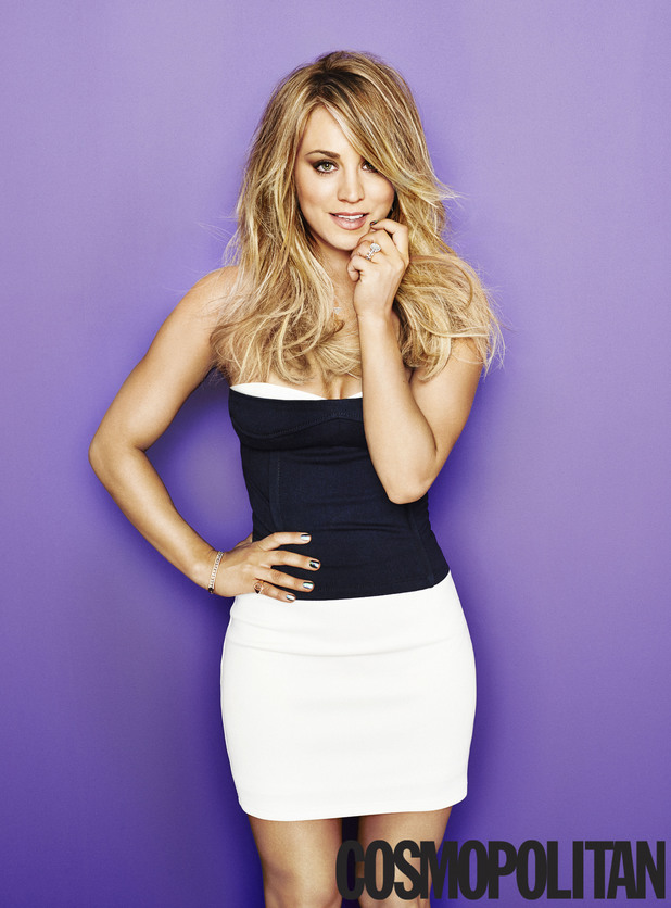 Kaley Cuoco in Cosmopolitan