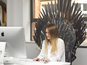 NOW TV unveils Iron Throne replica